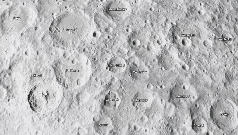 Googleマップのストリートビューで月や火星を見る方法